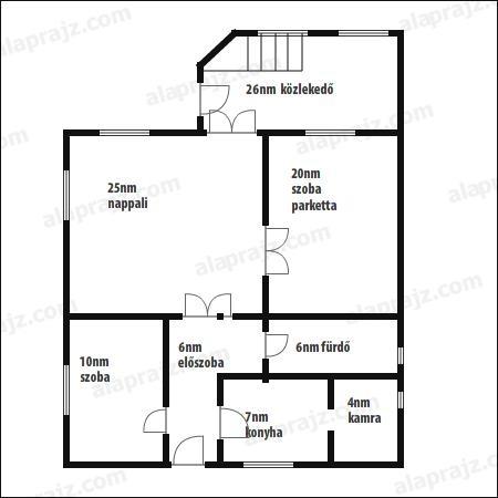 Verkaufen Haus Tata  96 m<sup>2</sup> 35 millió Ft